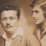 Schoffmann mit Frau © Gnazim Institute, Hebrew Writers Assosciation
