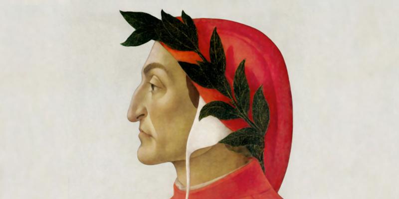 Dante Alighieri von Sandro Botticelli, um 1495